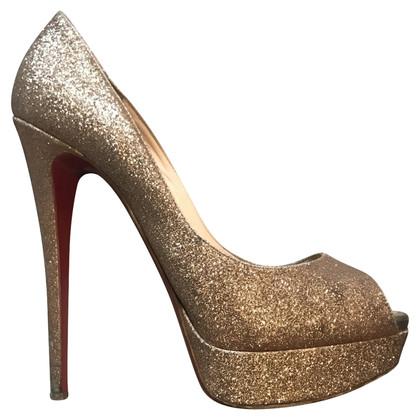 Christian Louboutin Glitter Sandal