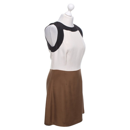 Etro zijden jurk in Tricolor