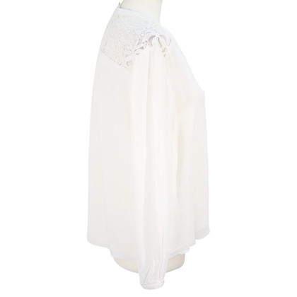 Whistles Top in bianco