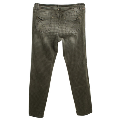 Marc Cain Hose mit Hahnentrittmuster
