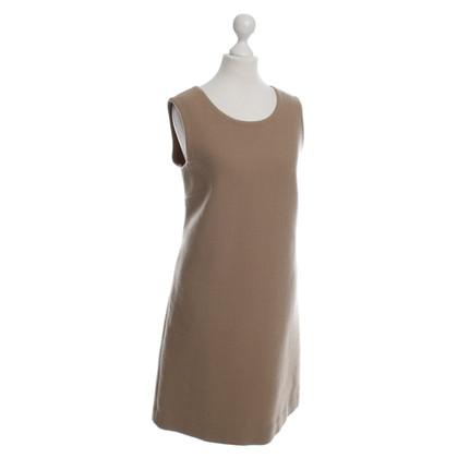 Dolce & Gabbana Beigefarbenes Kleid