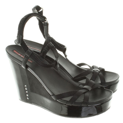 Prada Zeppe in Black