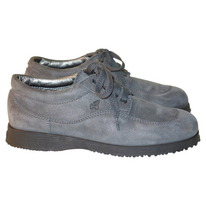 Hogan Leather sneakers in Anthracite