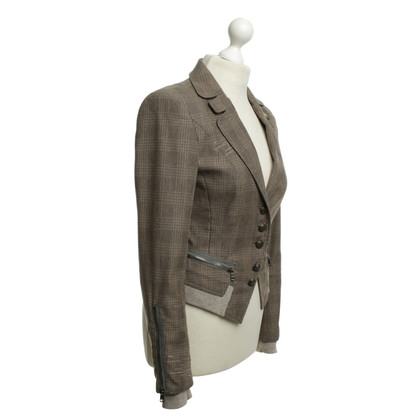 Marc Cain Blazer with checked pattern