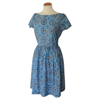 Prada Dress with blue print