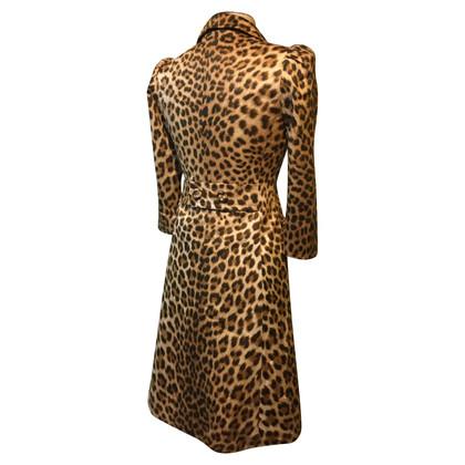 Blumarine Cappotto con il modello leopardo