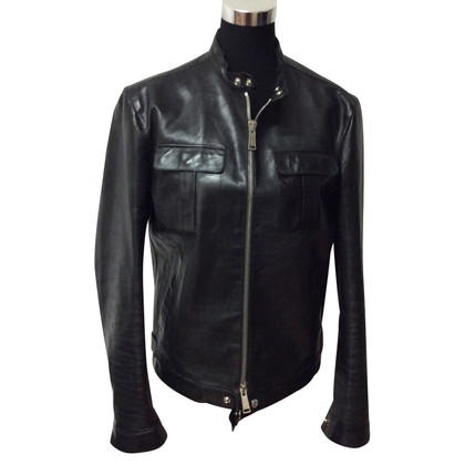 Dsquared2 giacca di pelle