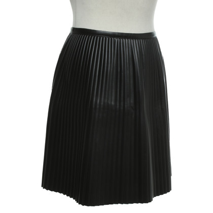 MSGM Pleated skirt in black