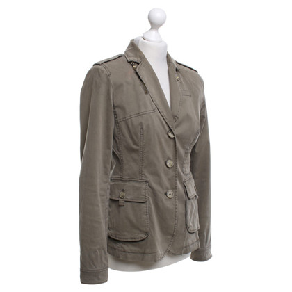 Blonde No8 Jacket in olive green