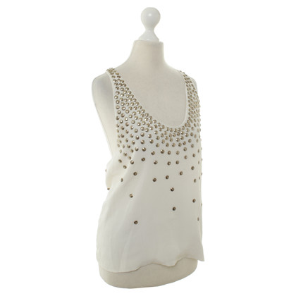 JOOP! Top with studs trim