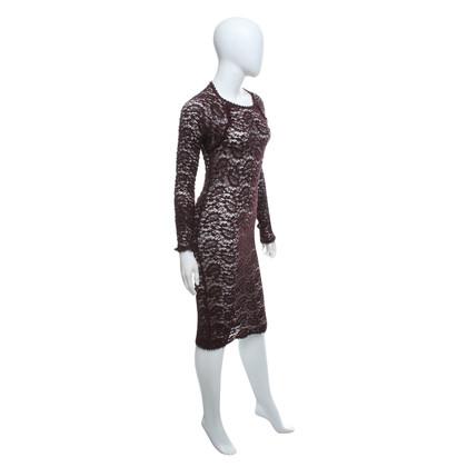 Isabel Marant Etoile Lace dress in Bordeaux