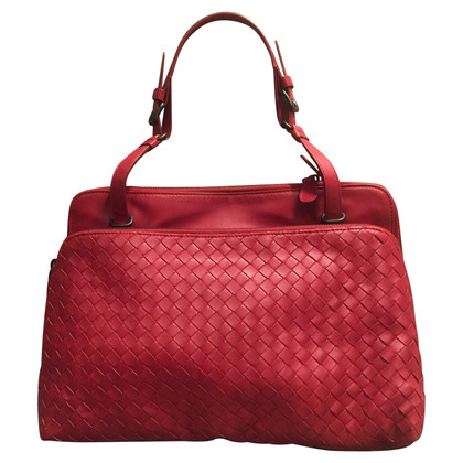 Bottega Veneta Handtas in rood