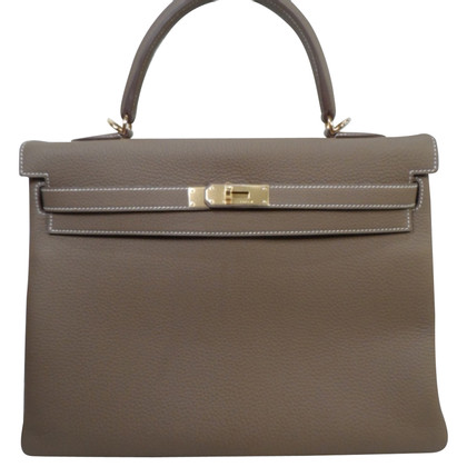 "Hermès ""Kelly Bag 32 ETOUPE"""
