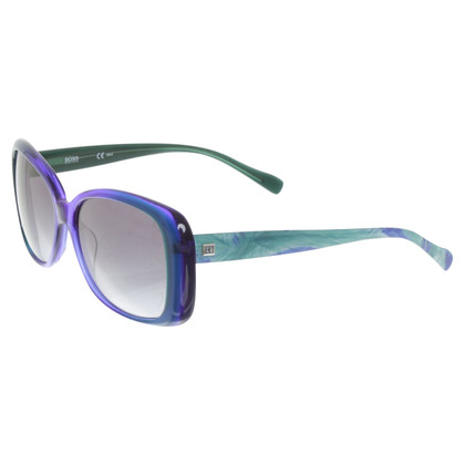 Hugo Boss Occhiali da sole in Blue / Turquoise