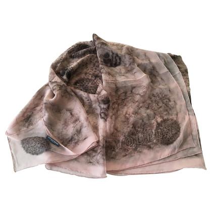 Alexander McQueen Zijden sjaal met Skull Flower Print