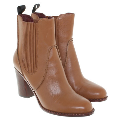 Marc Jacobs Leather ankle boots in brown