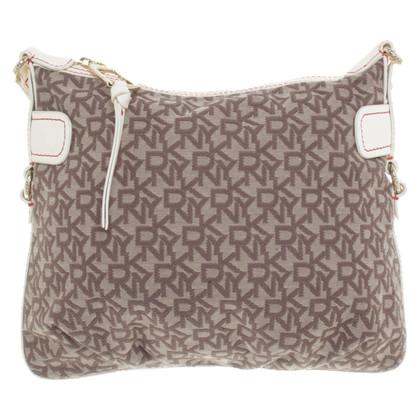 DKNY Shoulder bag with logo pattern