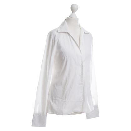 Burberry Pattern cuffs blouse