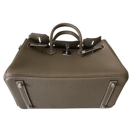 Hermès Birkin 30, Togo, Etoupe, Palladium