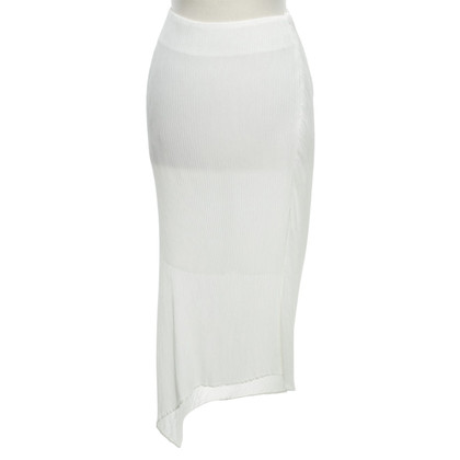 McQ Alexander McQueen Asymmetrical skirt in white