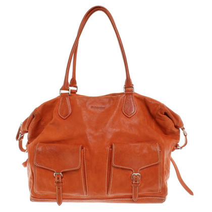 Jil Sander Leder Hopper in Orange