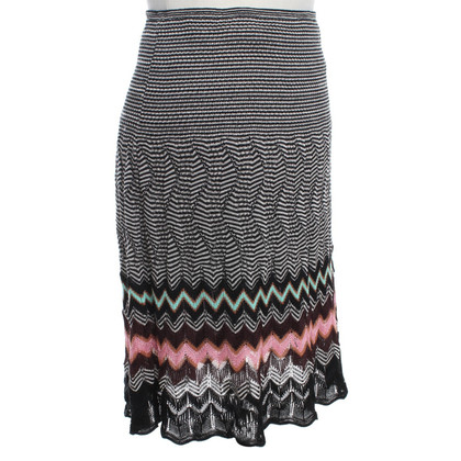 Missoni skirt with striped pattern