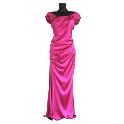Vera Wang Evening dress in Fuchsia