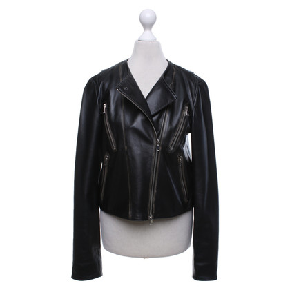 Dorothee Schumacher Leather jacket in black