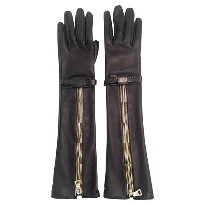 Prada Long Leather Gloves