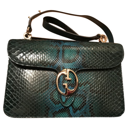 "Gucci ""GG ​​Marmont Crossbody Bag"" in python leather"