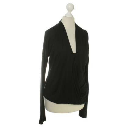 Max Mara top in black