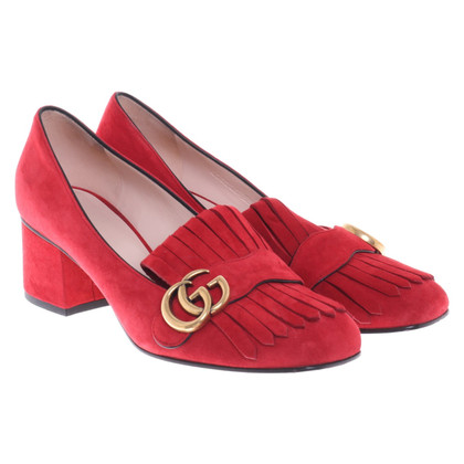 Gucci pumps in rosso