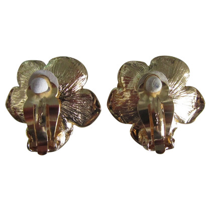 Yves Saint Laurent Gilded earrings