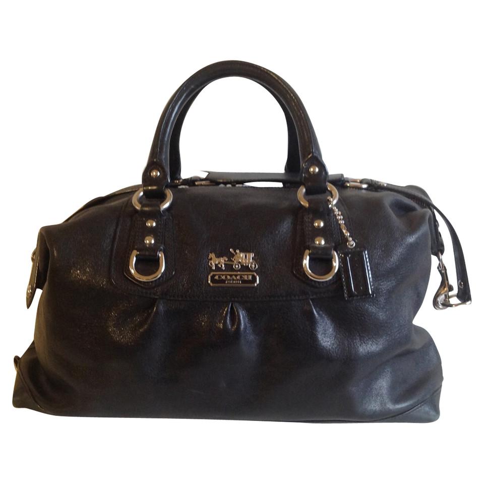 coach handtasche in schwarz second hand coach handtasche in schwarz gebraucht kaufen f r 189. Black Bedroom Furniture Sets. Home Design Ideas