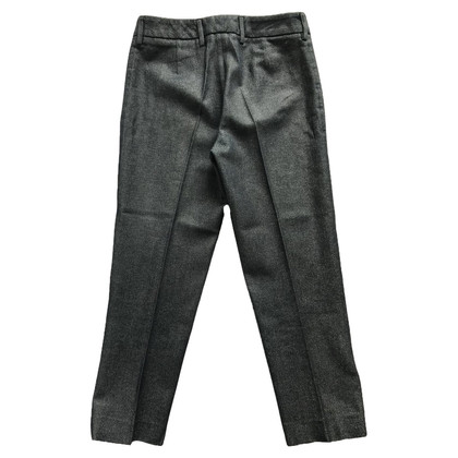 Dolce & Gabbana Metallic denim slim trousers