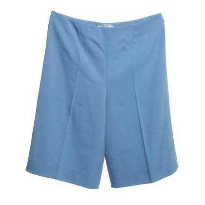 Prada Elegante Culotte in Blau