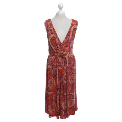 Issa Silk dress with pattern