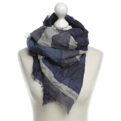Burberry Silk wool scarf
