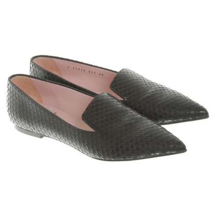 Pretty Ballerinas Slipper in Schwarz