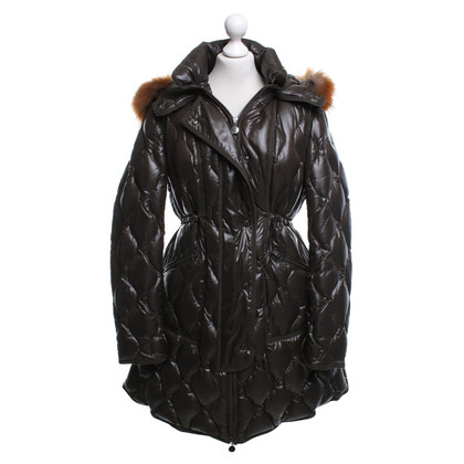 Moncler Down coat with fur