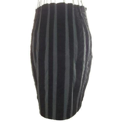 Moschino Cheap and Chic skirt with velvet appliqués