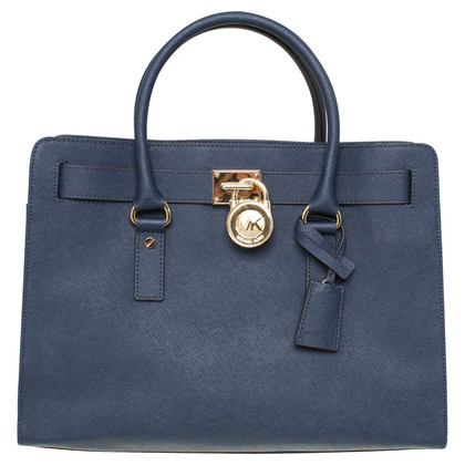 "Michael Kors Shoulder bag ""Hamilton"" in Navy"