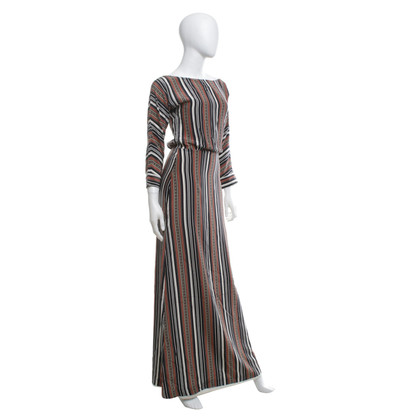 Alice By Temperley Long dress with stripes pattern