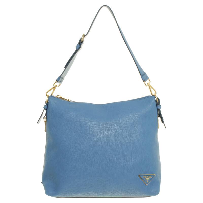 Borsa Prada Blu Cobalto