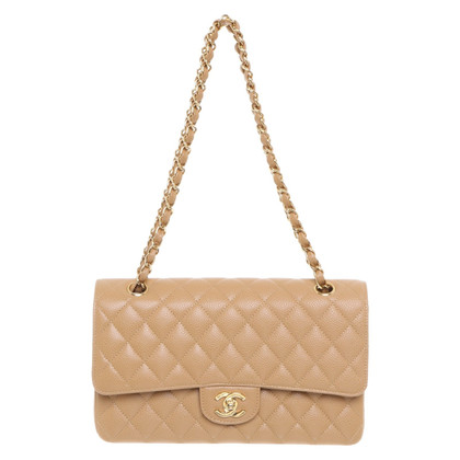 Chanel 'Classic Double Flap Bag' 'in beige