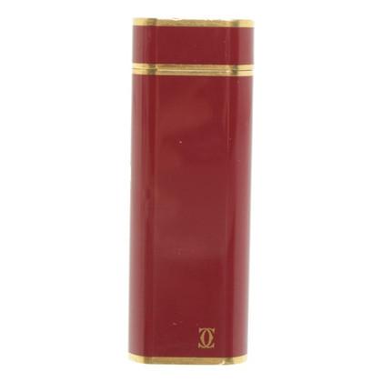 Cartier Lighter in Bordeaux