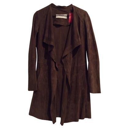 Steffen Schraut Suede coat