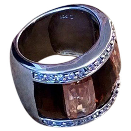 Kenneth Jay Lane Ring mit Schmuckstein