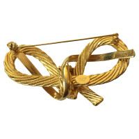 Balmain Gold colored brooch