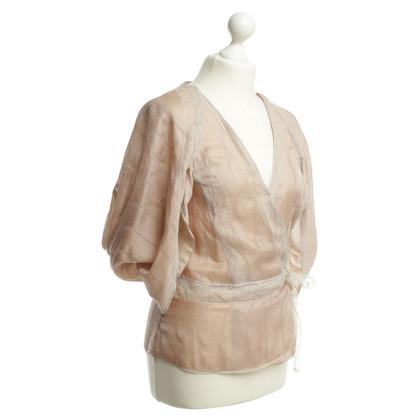 Stella McCartney Wrap blouse silk